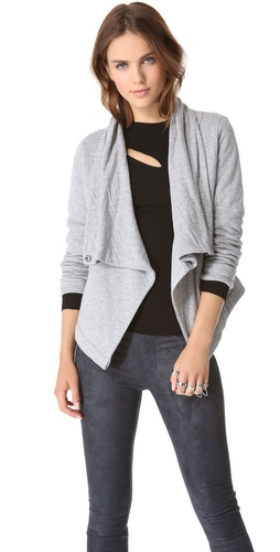DKNY Pure DKNY Knit Jacket at Shopbop / East Dane