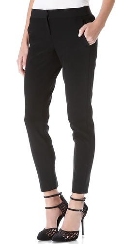 DKNY Clean Slim Ankle Pants at Shopbop / East Dane