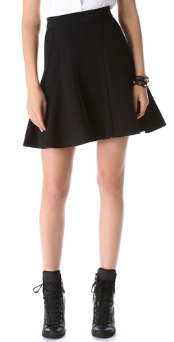 DKNY Skirt with Inserts at Shopbop / East Dane