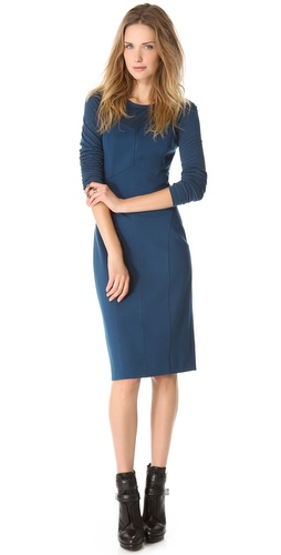 DKNY Modern Long Sleeve Dress at Shopbop / East Dane