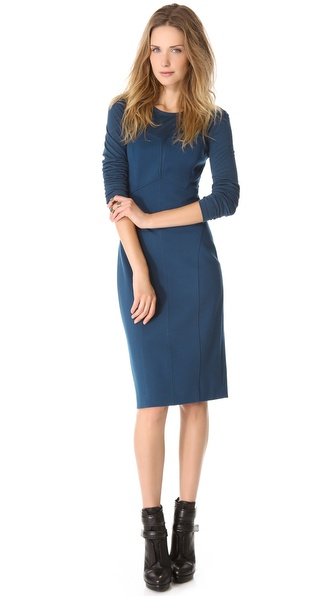 DKNY Modern Long Sleeve Dress