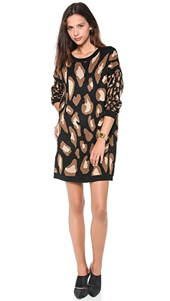 DKNY Double Knit Tunic Dress