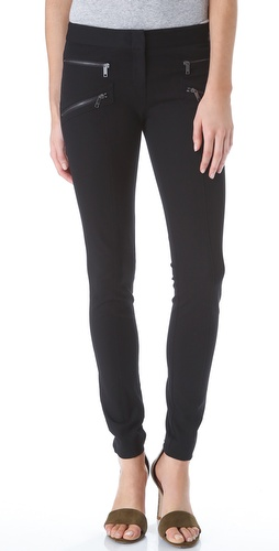 DKNY Skinny Pants with Zipper Pockets at Shopbop / East Dane
