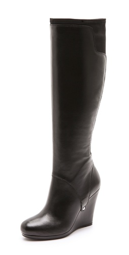 DKNY Nadia Stretch Back Wedge Boots at Shopbop / East Dane