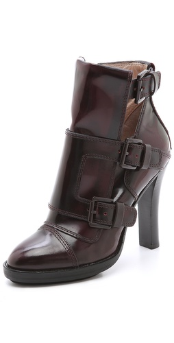 DKNY Leigh Monk Strap Booties at Shopbop / East Dane