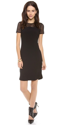 DKNY Mesh Panel Dress at Shopbop / East Dane