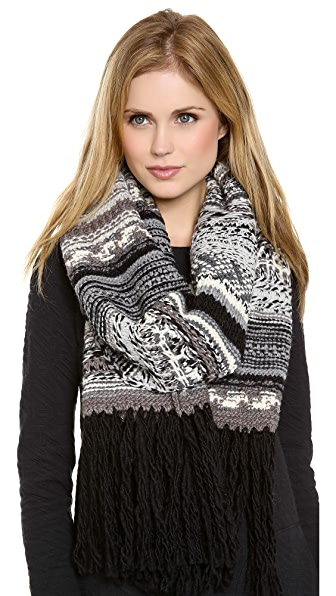 DKNY Pure DKNY Novelty Stitch Scarf