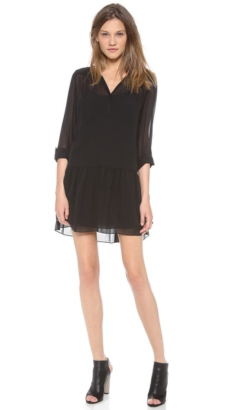 Dkny Pure Dkny Drop Waist Tunic / Dress - Black at Shopbop / East Dane
