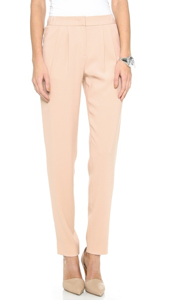 Dkny Pleat Front Narrow Pants - Tulle at Shopbop / East Dane