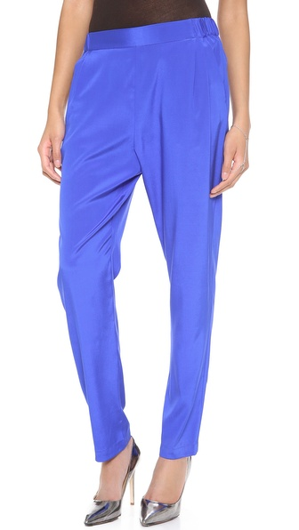 Dkny Pull On Pleated Pants - Wave at Shopbop / East Dane