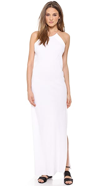 DKNY Illusion Maxi Dress