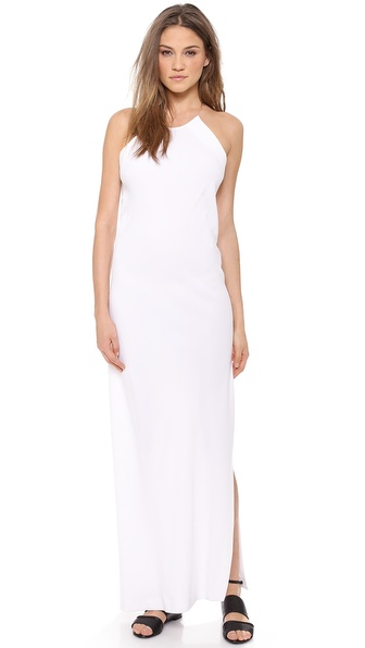 DKNY Illusion Maxi Dress