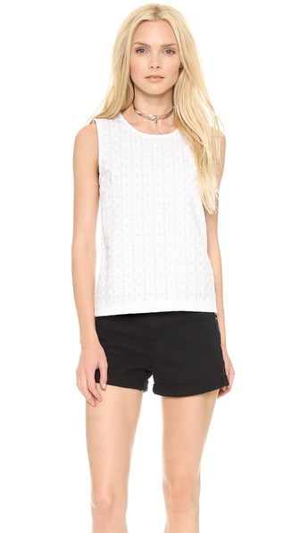 DKNY Boxy Shell Top