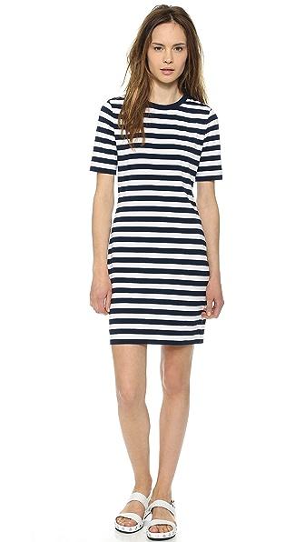 DKNY Short Sleeve Dress