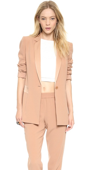DKNY Long Sleeve Blazer