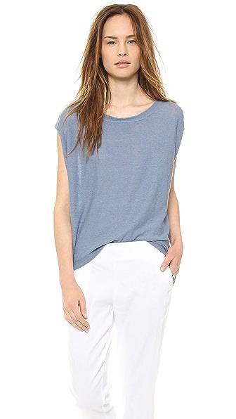 DKNY Pure DKNY Linen Sleeveless Pullover