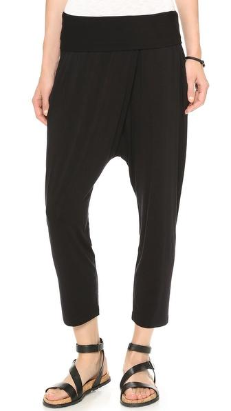 DKNY Pure DKNY Foldover Harem Pants