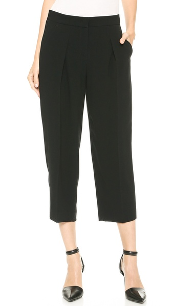 DKNY Cropped Wide Leg Pants