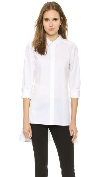 DKNY Long Sleeve Button Thru Shirt