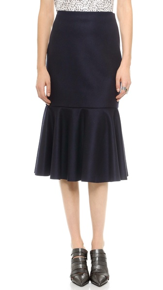 DKNY Skirt with Flounce Hem