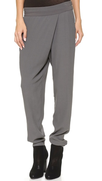 DKNY Pure DKNY Faux Wrap Pants