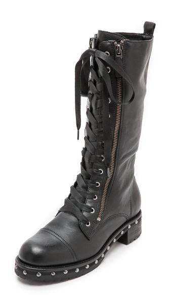 DKNY Halen Combat Boots