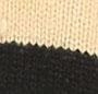 黑色/驼色