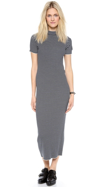 DKNY x Opening Ceremony Striped Maxi Dress