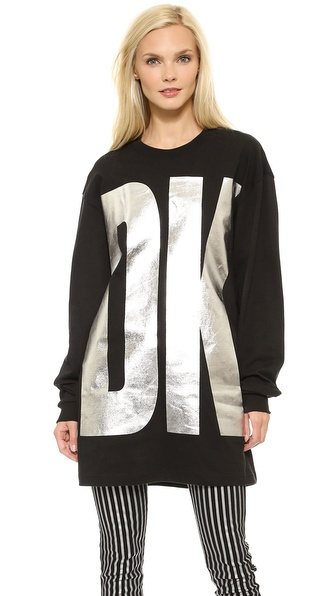DKNY x Opening Ceremony Long Sleeve Crew Neck Sweatshirt
