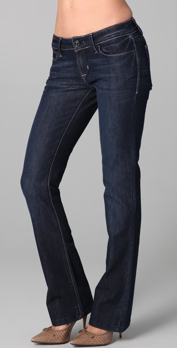 DL1961 Cindy Petite Slim Boot Cut Jeans