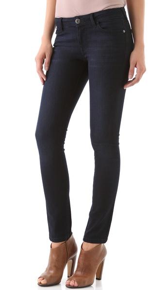 DL1961 Amanda Overdye Skinny Jeans
