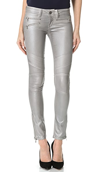 DL1961 Hazel Wax Coated Skinny Jeans