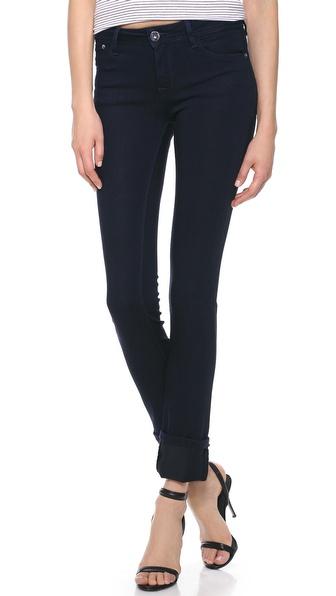 Dl1961 Coco Curvy Straight Jeans - Flatiron