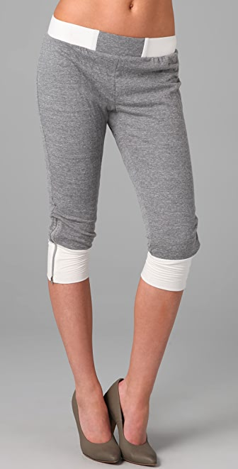 David Lerner Cropped Sweatpants