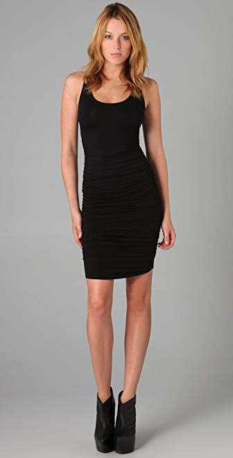 David Lerner Ruched Dress