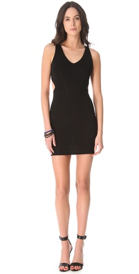 David Lerner Cutout Mini Dress
