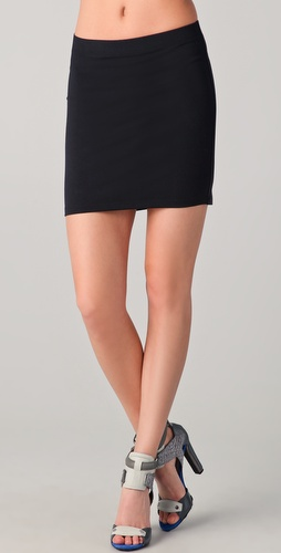 David Lerner Jersey Miniskirt