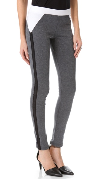 David Lerner Leggings with Mesh