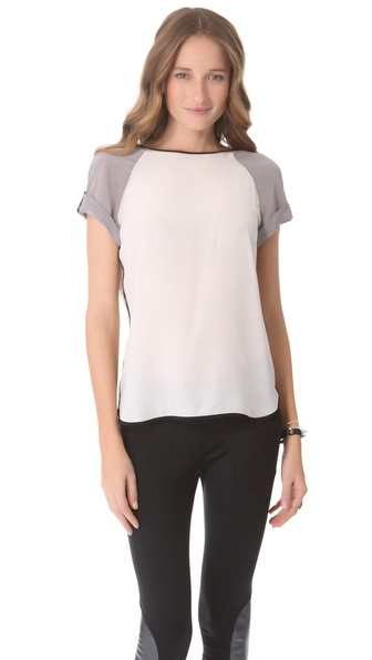 David Lerner Colorblock Tee