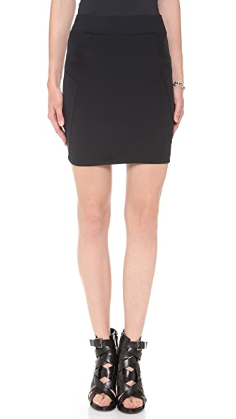 David Lerner Basic Miniskirt
