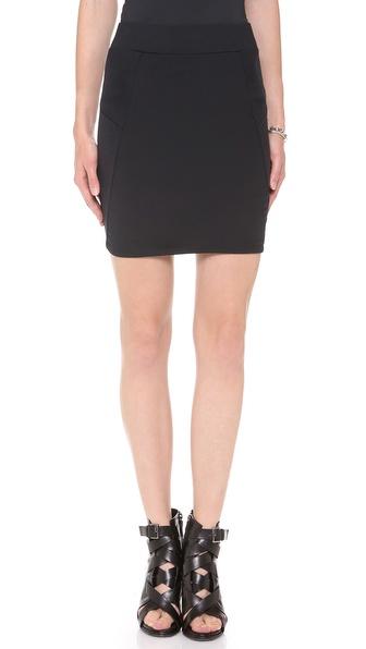 David Lerner Basic Miniskirt