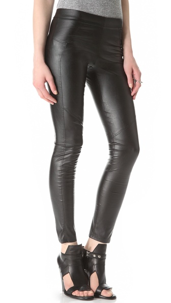 David Lerner Faux Leather Leggings