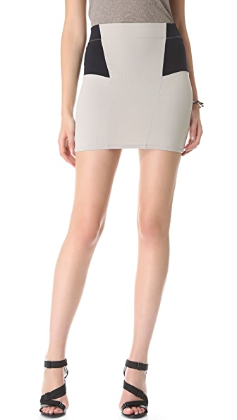 David Lerner Colorblock Skirt