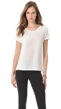 David Lerner Short Sleeve Crew Neck Tee