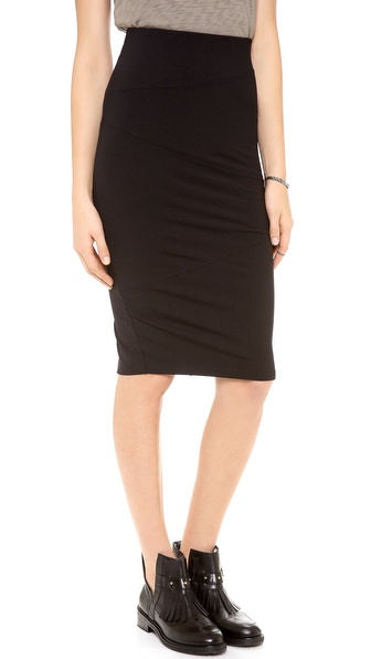 David Lerner Seamed Skirt