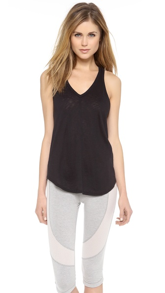 David Lerner V Neck Racer Tank
