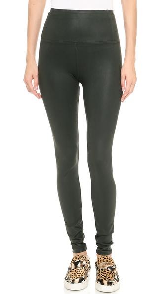 David Lerner Elliot High Waisted Coated Leggings