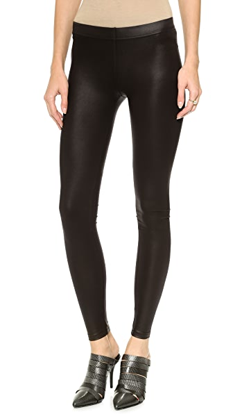 David Lerner Basic Coated Leggings