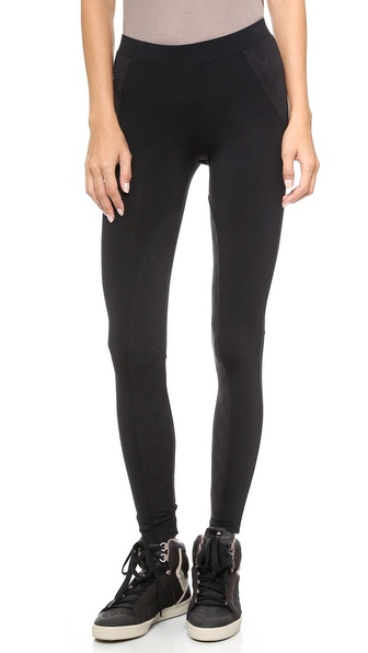 David Lerner Ryder Legging with Quilted Insets