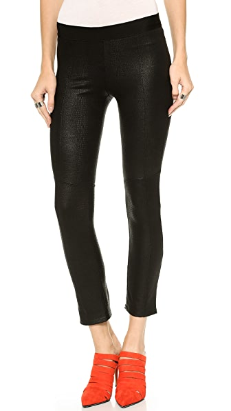 David Lerner Seamed Cropped Leggings
